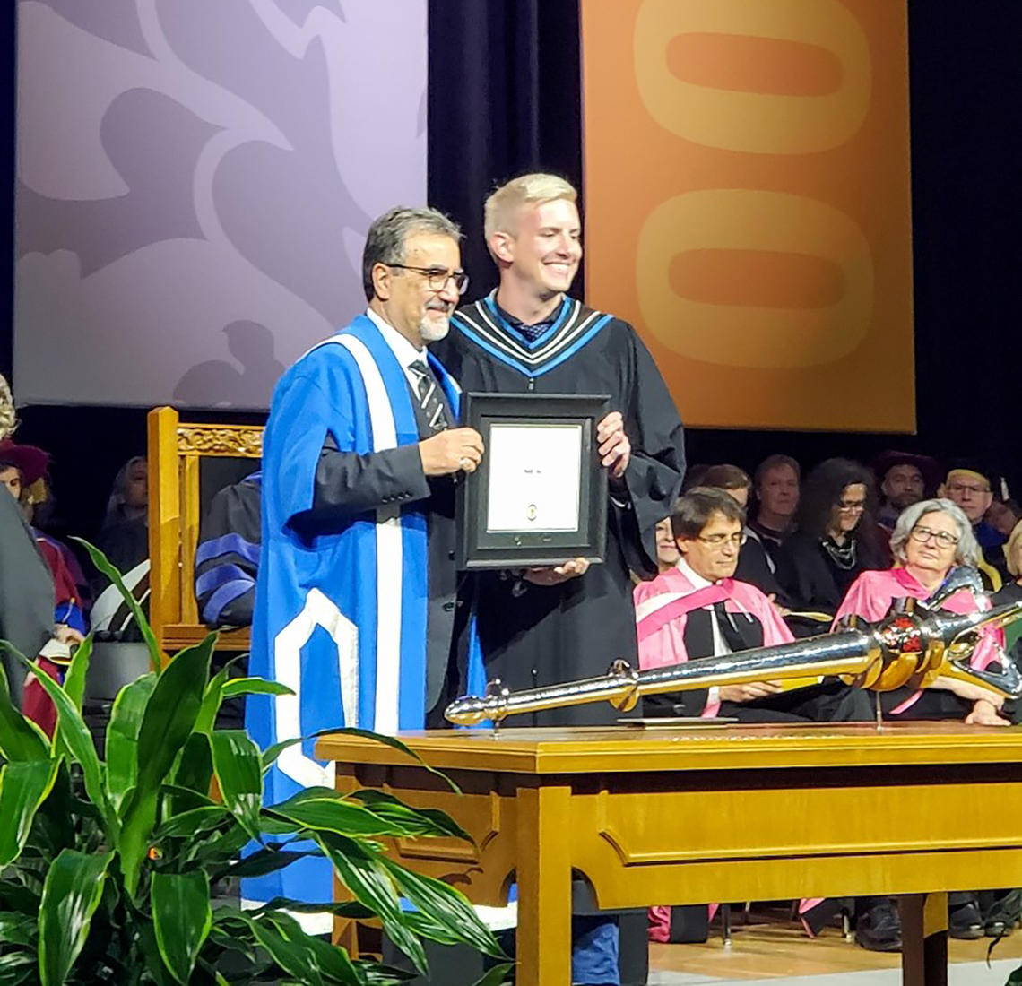 Marc Hall UWaterloo Convocation
