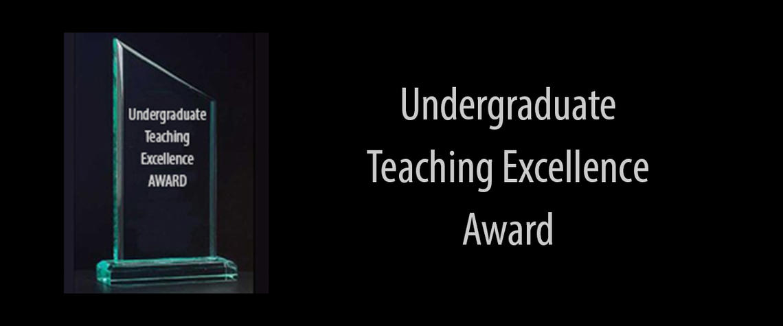Undegraduate Teaching Excellence Award