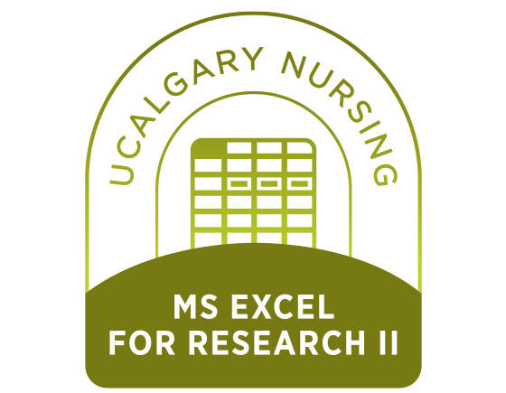 MS Excel for Research II