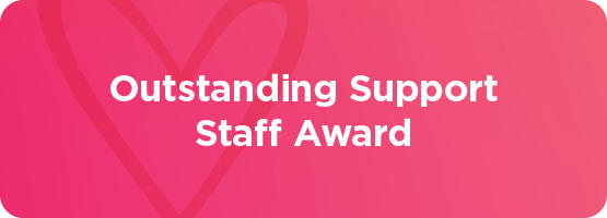 Outstanding Support Staff Award