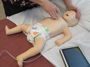 Resusci Baby QCPR by Laerdal