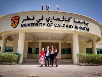 In 2006, the University of Calgary and the State of Qatar sign an agreement to establish an undergraduate nursing education program in Qatar, patterned after the UCalgary curriculum.