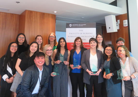 2019 Faculty of Nursing Pursuit of Excellence Awards