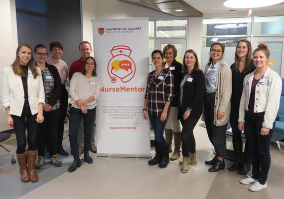 NurseMentor group photo from Nov. 2019 Mingle