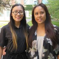 Nurse mentor and student, UCalgary Nursing